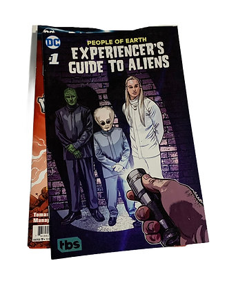 DC TBS PEOPLE OF EARTH EXPERIENCER'S GUIDE TO ALIENS COMIC #1