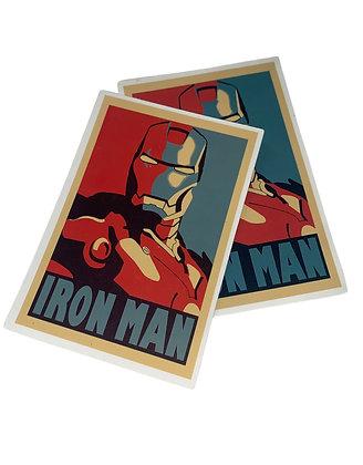 Iron Man Postage Sticker