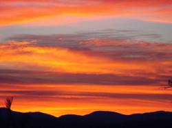 Nov. sunrise. Courtesy of D. Kerr