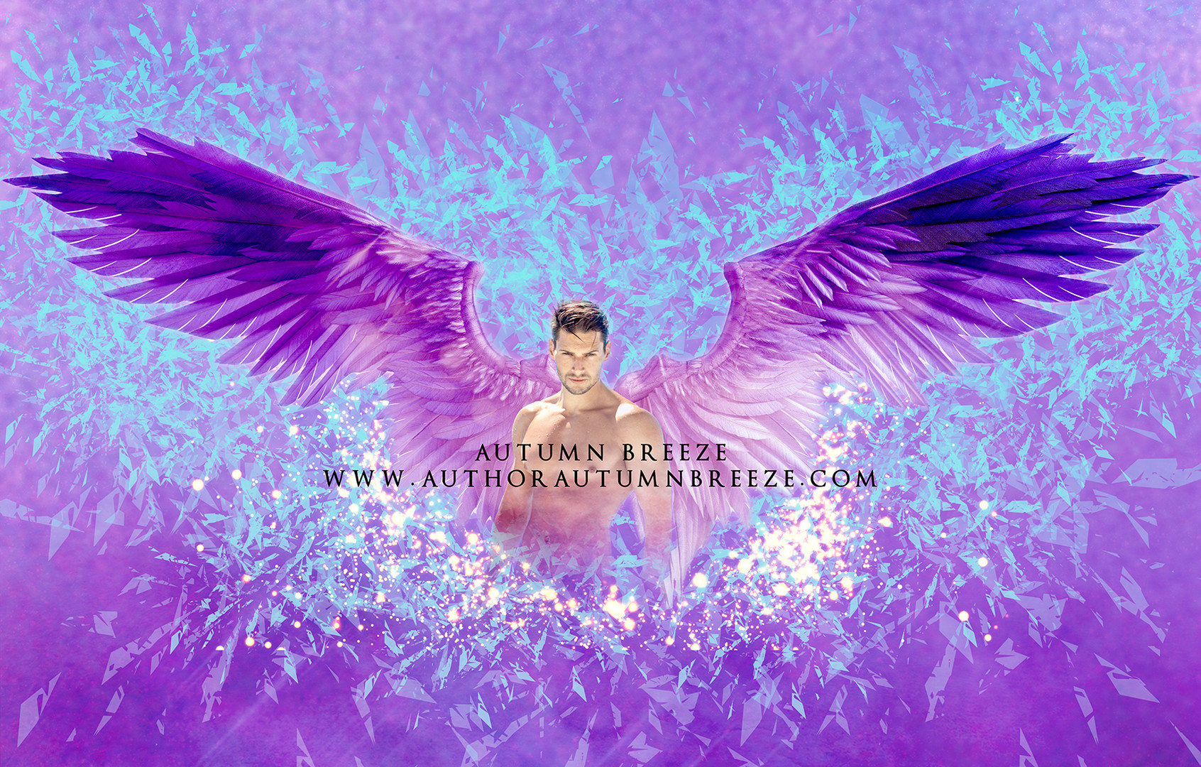 purple love angel