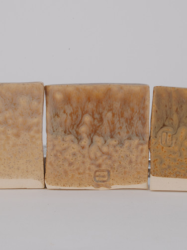 ^6 Nickel Line Test with Vanadium Pentoxide with Crystalline Matte Surface