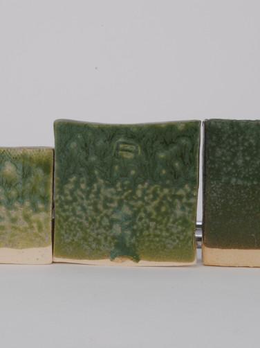^6 Chrome Line Test with Vanadium Pentoxide with Crystalline Matte Surface