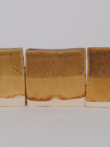 ^6 Red Iron Oxide and Iron Chromate Line Test with Crystalline Matte Surface