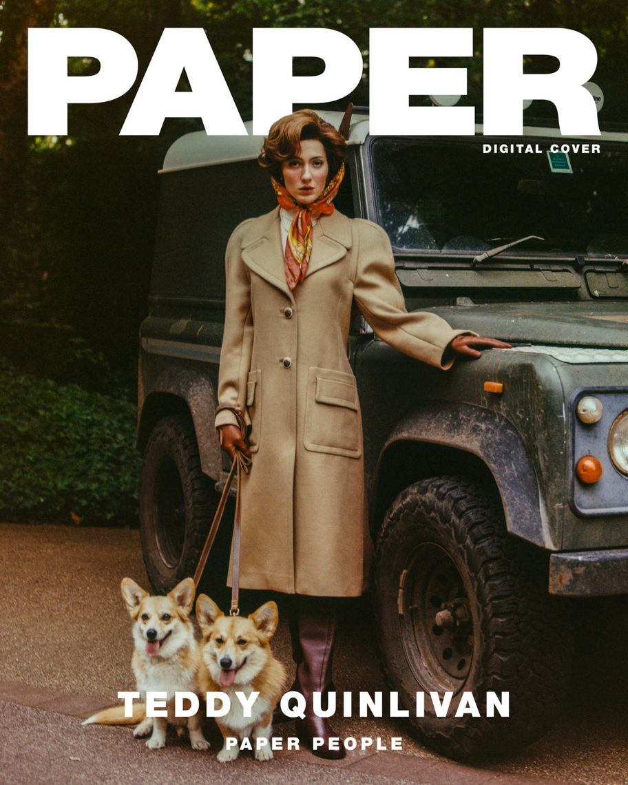 Paper Magazine by Louie Banks + Jack Collins
