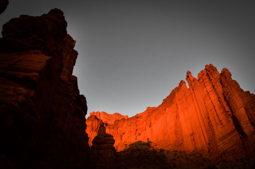Fisher Towers Shadows
