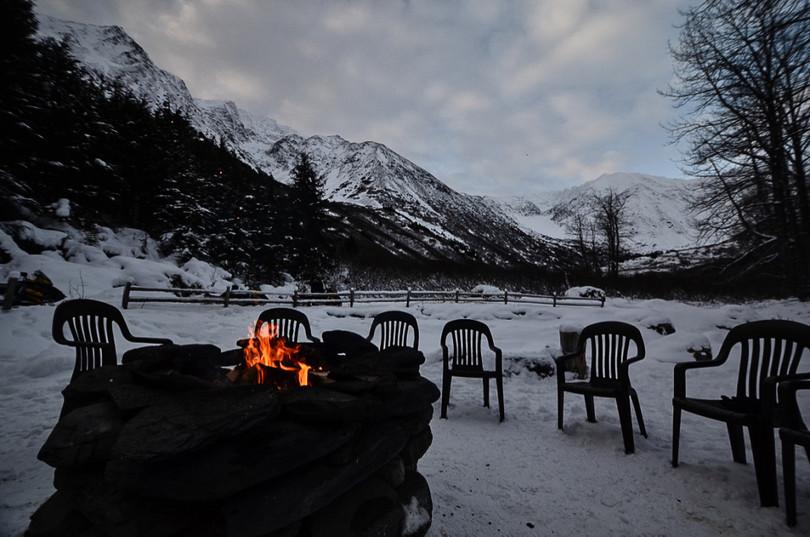 campfire alaska