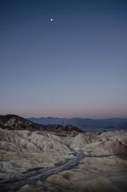 Moonrise Death Valley