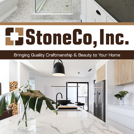 Kitchen quartz countertop that StoneCo did a great job with countertop fabrication and countertop install