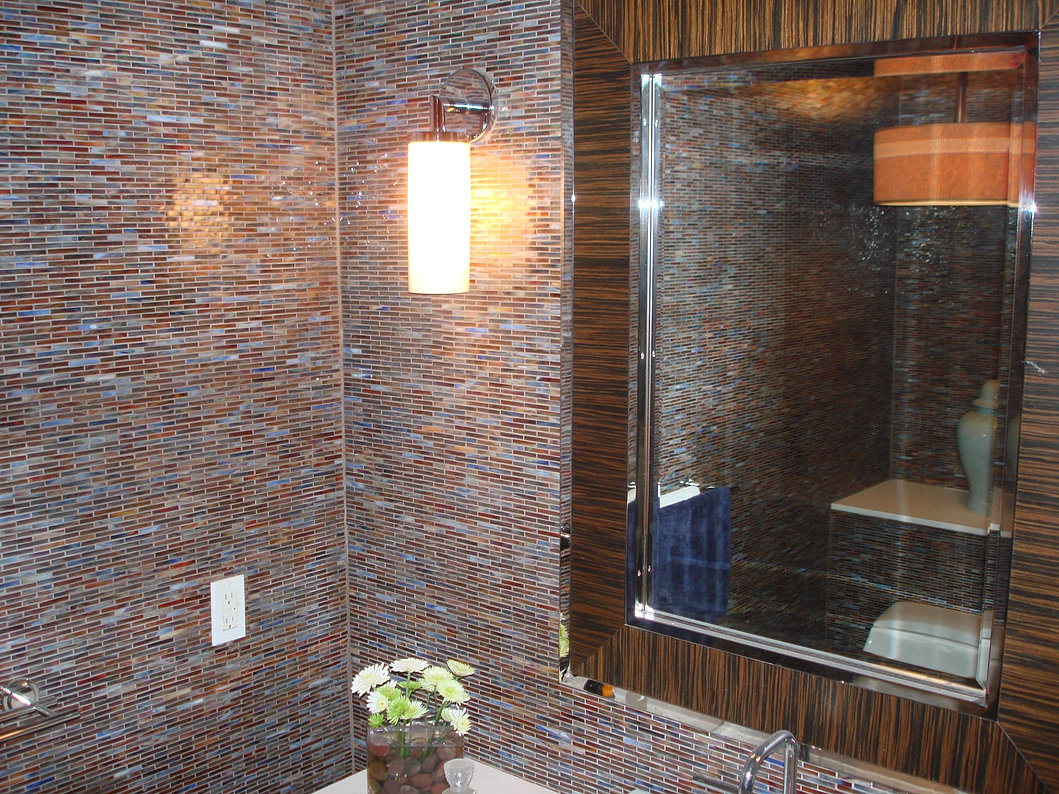 primo remodeling | glass tile