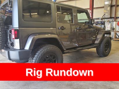 2017 Jeep JKU - Lift Kit, Wheels, Tires and ReGear