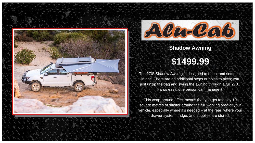 Alu-Cab Shadow Awning 270