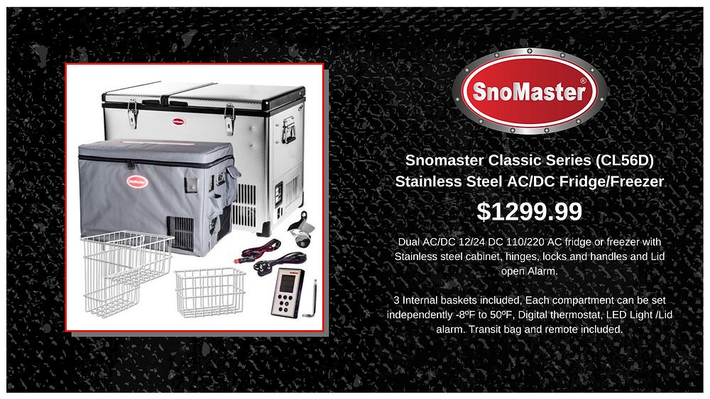 SnoMaster Classic Series Fridge