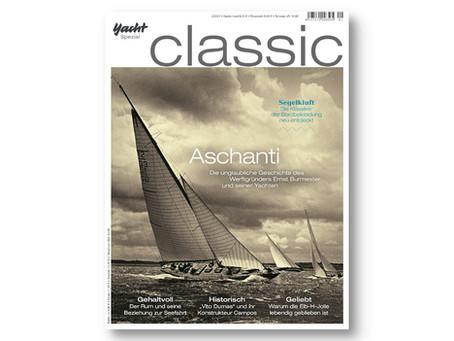 Start in die Saison der Klassiker: Neue YACHT classic läuft vom Stapel