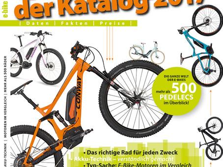Neu am Kiosk: Die ganze Welt der E-Bikes in einem Katalog