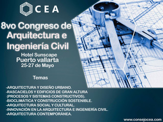 8vo Congreso Nacional de Arquitectura e Ingeniería Civil