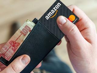 Nueva tarjeta Amazon de débito recargable