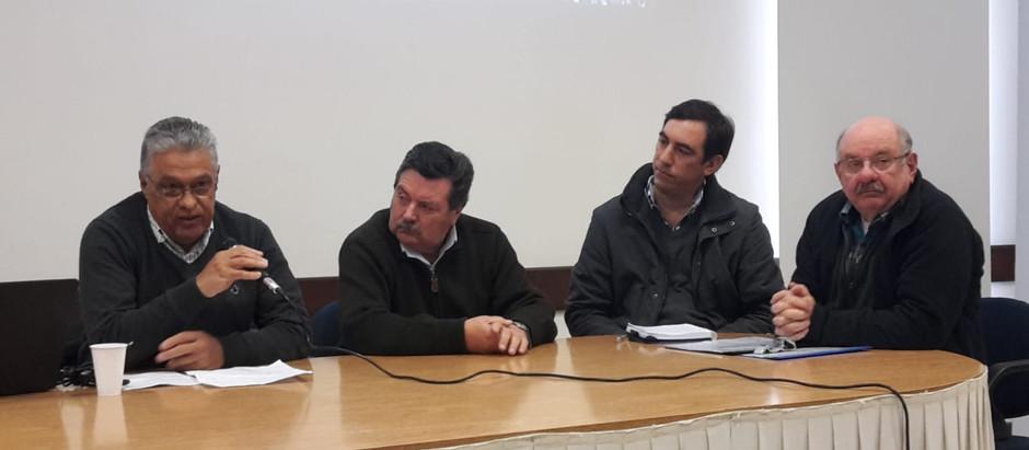 Autoridades departamentales e idóneos participaron en actividades de intercambio sobre la visión en