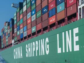 Por efecto del COVID-19, costos de fletes China-Uruguay se multiplicaron por diecisiete veces