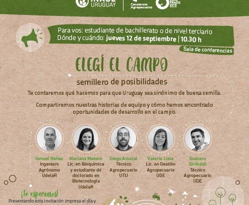 NOS ENCONTRAMOS EN LA EXPO PRADO: STAND Y CHARLA PARA ESTUDIANTES
