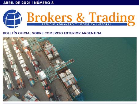 Boletín Nº 8 sobre Comercio Exterior - ARGENTINA