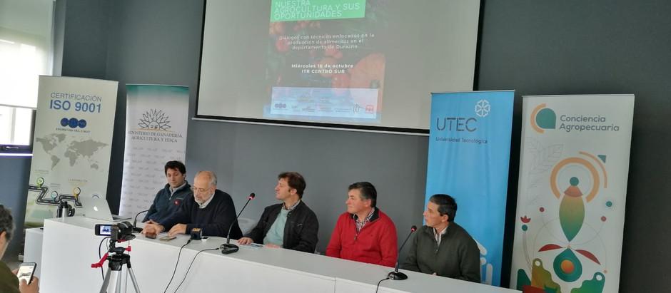 En Durazno se concretó la intervención en el DMA con foco en la agrocultura, las oportunidades...