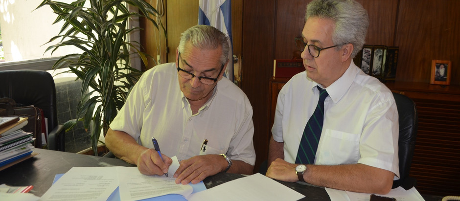 Ministro Benech firmó acuerdo con FAO para ejecutar proyecto y promover Conciencia Agropecuaria
