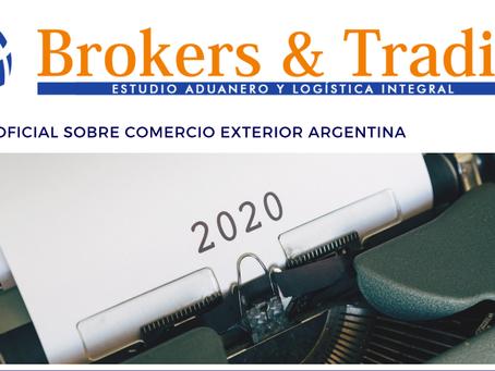 Boletín N°5 sobre Comercio Exterior - ARGENTINA