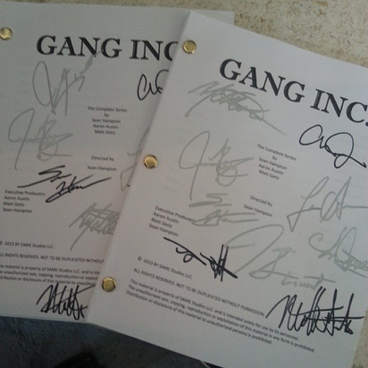 The scripts from my recent web series. H