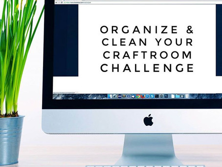 Challenge: Organize your Craft Room