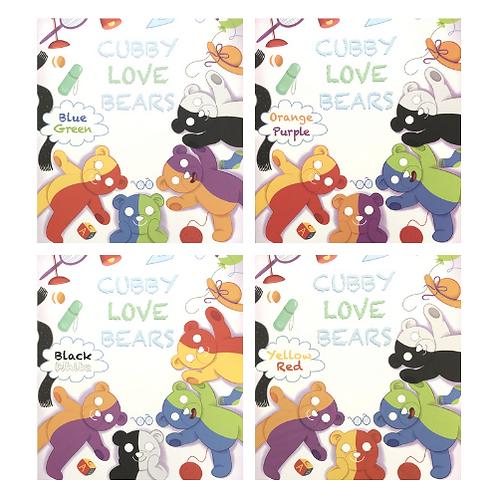 Cubby Love Bear Bilingual Books (Set of 4)