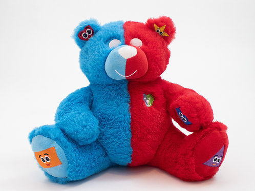 Tezzy Bear  Shapes and Colors (Bilingual)