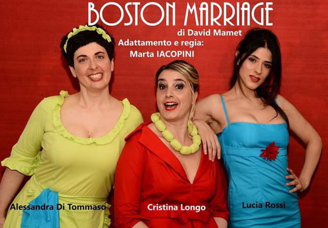 Matrimonio bostoniano in un salotto romano