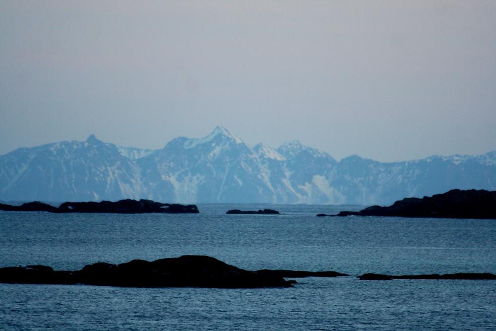 (Austvågøya, Isole Lofoten - Norvegia – gennaio 2018)