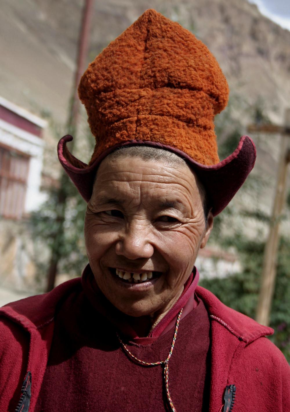 Monaca della Zangla Byangchub chöling (Zanskar valley, Ladakh – India, agosto 2013)