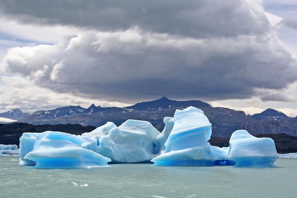 Icebergs sul lago Argentino (Argentina – Patagonia e Terra del Fuoco, dicembre 2007 / gennaio 2008)