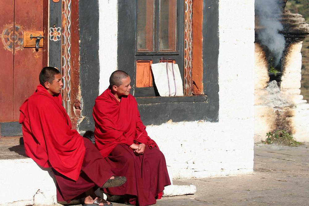 Monaci (Bhutan – novembre 2008)