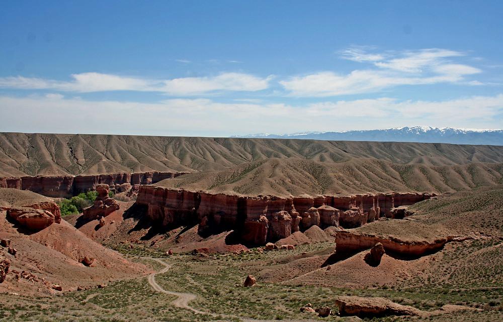 Un canyon e i suoi colori (Temirlik canyon – Kazakhstan aprile-maggio 2018)