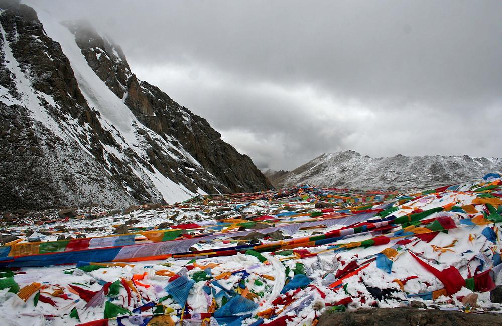 Al Drolma-la - il passo di 5.630 m. (Tibet – agosto 2019)