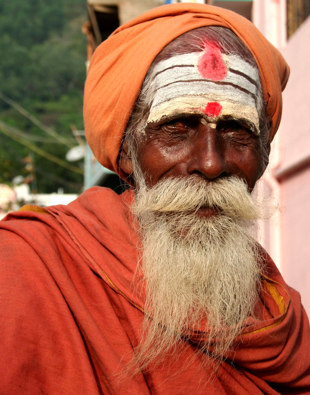 Sadhu sulla collina di Arunachala (India – Tamil Nadu, Kerala, Karnataka – novembre/dicembre 2017)