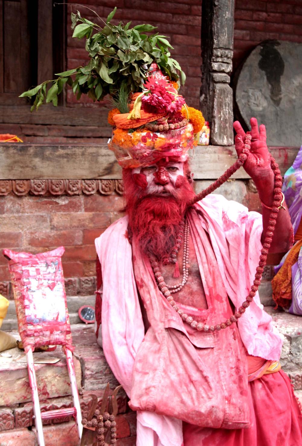 Sadhu (Pashupatinath – Nepal, agosto 2019)