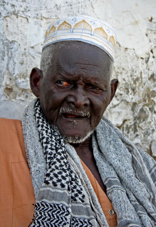 Vecchio al villaggio di Diogane (Senegal – febbraio 2016)