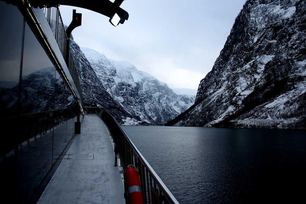 (Naerøfjord, Norvegia – gennaio 2018)