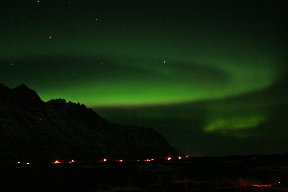 (Dintorni di Svolvaer, Austvågøya, Isole Lofoten - Norvegia – gennaio 2018)