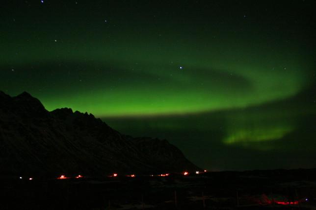 La danza delle aurore boreali