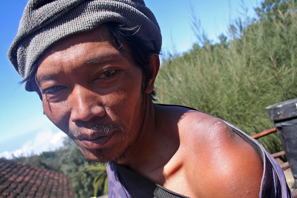 Portatore di zolfo (Kawah Ijen – Giava – Indonesia, 2008)