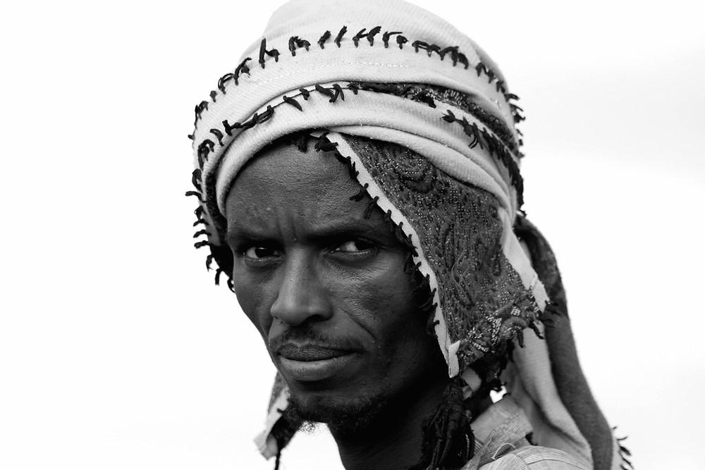 Capo di un villaggio oromo tra Harar e Awash (Etiopia, dicembre 2009/gennaio 2010)