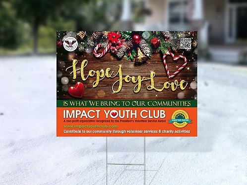 IYC Lawn Sign