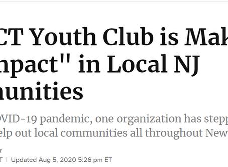 IYC Featured in Patch Website of Warren NJ