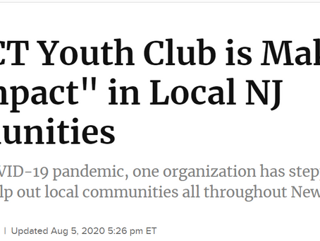 IYC Featured in Patch Website of Warren NJ