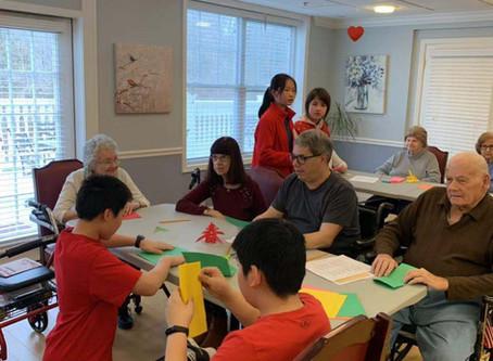 Chinese New Year Music and Crafts 2019 at Chelsea Bridgewater Senior Living Center